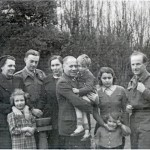 Stránský and Korbel families, Jaro S. center, a youngMadeleineAlbrightstandingfrontright
