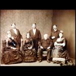 back row l to rt : Adolf, Richard, Max. Frontrowltort:Karolina,Henrietta,Solomon,Hana